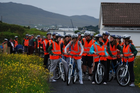 Achill Bikes group on Greenway